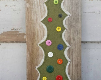 Rustic Primitive Vintage Christmas Holiday Wall Hanging Decor