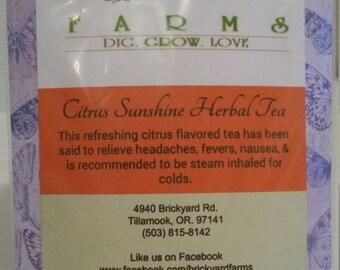 Citrus Sunshine Herbal Tea