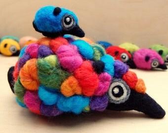 Woolneppy Adult - Multi coloured Ellie inspired Woolneppy