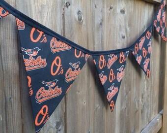 Handmade Baltimore Orioles Banner