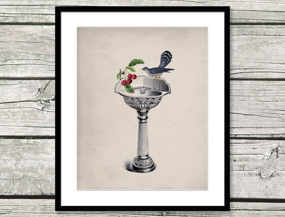 pedestal sink vintage sink plumber gifts wall decor art antique sink ...