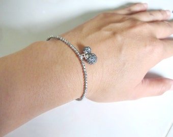 bracelet , handmade bracelet , candy bracelet , elastic bracelet