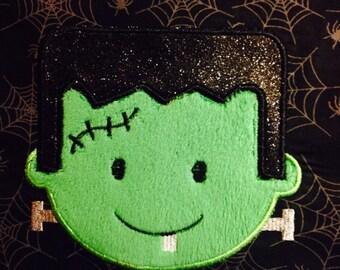 Halloween Diaper Cover Frankenstein Jack O Lantern