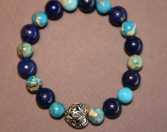 Lovely bracelet made with turquoises and