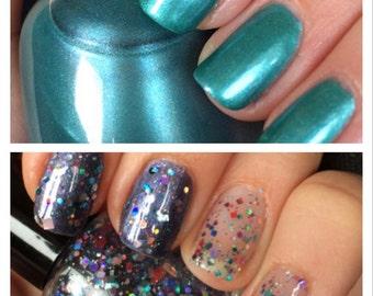 Sci-Fi nail polish duo full size and mini