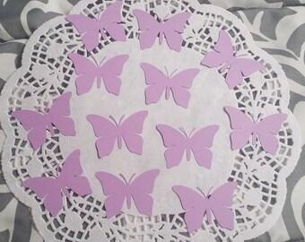 Butterfly Die Cuts Confetti Embellishments: Lavender (Butterfly Wings Cardstock)