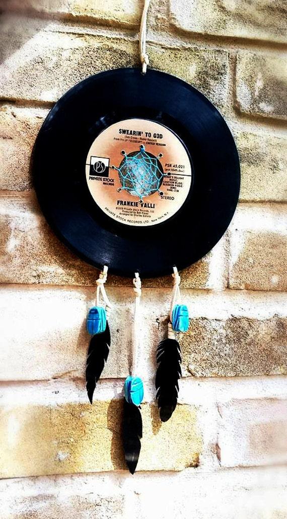 45 Record Dreamcatcher Vinyl Record By Shesgotaptitude On Etsy