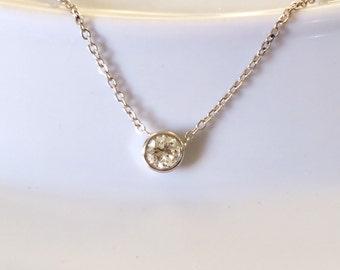 Diamond Bracelet White Diamond Solid 14k Gold Diamonds by