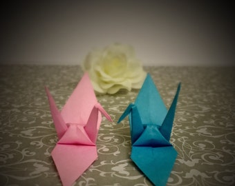 "Origami Cranes - 3"" Paper - Assorted 50 pack"