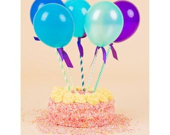 Blue Balloon Pops
