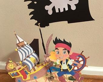 Neverland Pirate Centerpiece