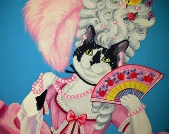 Costumed Pet Portraits — Original Canvas Paintings of Your Pet In The Costume of Your Choice, 100% Hand-Painted