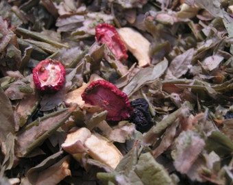 Tisane Boréale 35g, fruitée, antioxydante, régularise la glycémie/Herbal tea 35g, fruity, antioxidant, regulates blood sugar