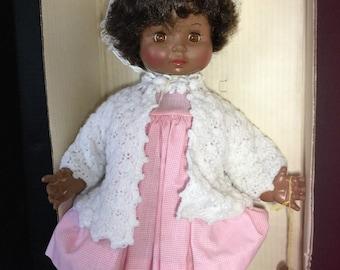 Effanbee Black Sweetie Pie Baby Doll c1971-1974       18 plus inches MIB