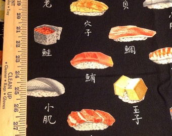 Sushi Alexander Henry cotton fabric