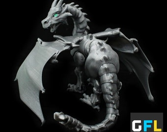 Articulated 3D Printed Dragon