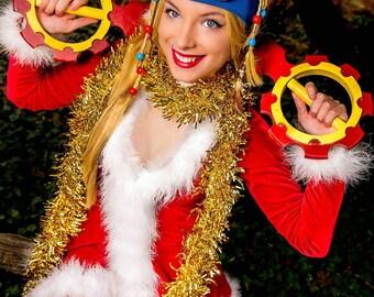 Christmas Rikku Cosplay Print #1