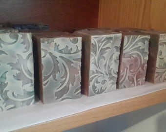 Fig Lace Soap - Guest Soap - Handmade in Israel