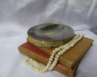 Brazilian agate Ash tray, Pin Tray