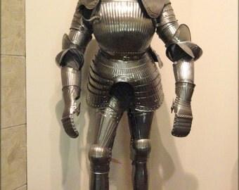 24x36 Poster . German Knight Maximilian Field Armor, Circa 1525-1530