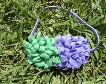 Felt Flower Elastic Headband