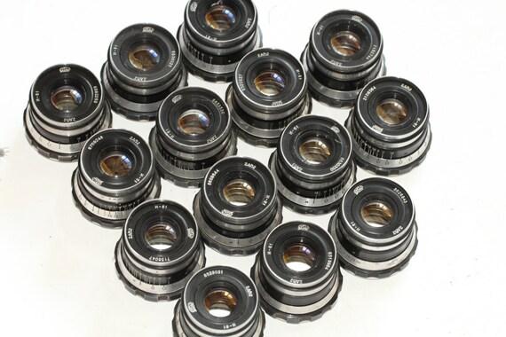 Industar-61 53mm 50mm f/2.8 lens M39 Zorki Leica 35mm film camera RF 14 pcs. N16