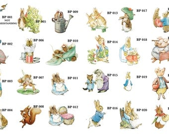 Easter Classic Peter Rabbit Letter Beatrix By Thedutchhospital