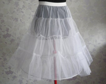 Tulle Peticoat with our without Lace Edge