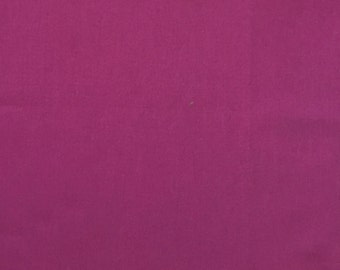 Purple raspberry solid quilt fabric