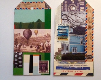 Mail Art Tags