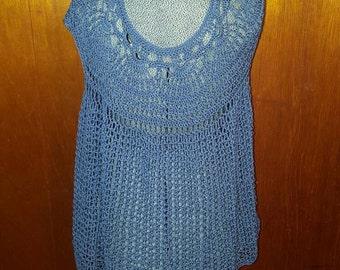 Handmade crochet blouse