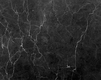 90cmx60cm Dark Black Marble Background Flat Lay Product Photography Floordrop Backdrop Vinyl