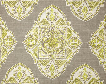 "Lacefield Malta Medallion Spring 54"" Wide Fabric By The Yard"