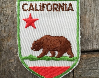 California Vintage Travel Souvenir Patch by Voyager - New in Original Package