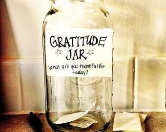 Custom Gratitude Jar