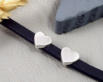 2 past leather flat heart plate money for leather flat 5mm
