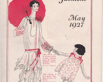 May 1927 - New Butterick Fashions Digital Reproduction