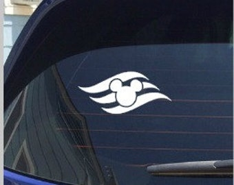 Disney Cruise Line Logo Decal FE Fish Extender