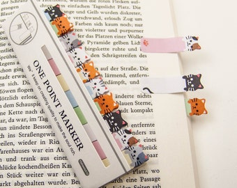 "Haftmarker ""cats"" / Filofaxing / sticky note"