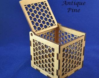 Wooden Curiosity Box