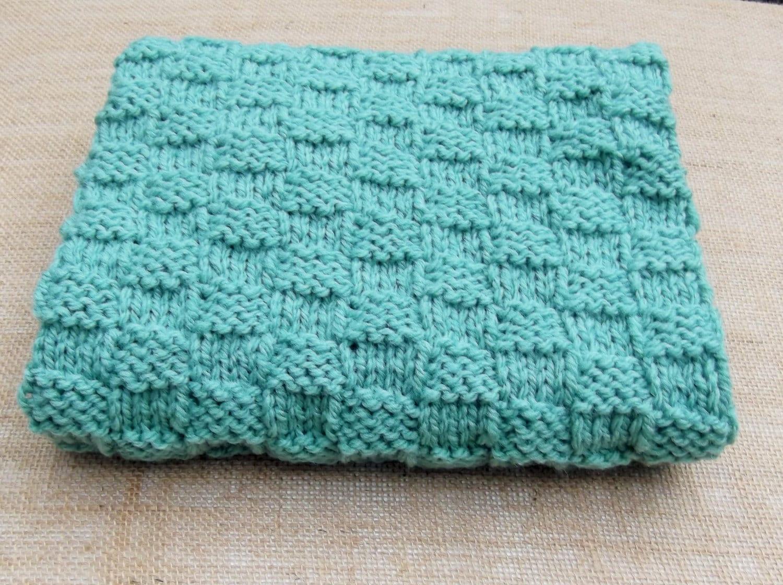 Knitting Pattern Travel Blanket : Hand Knitted Baby Travel Blanket lap by HandKnittedYorkshire