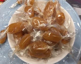 Buttery soft caramels