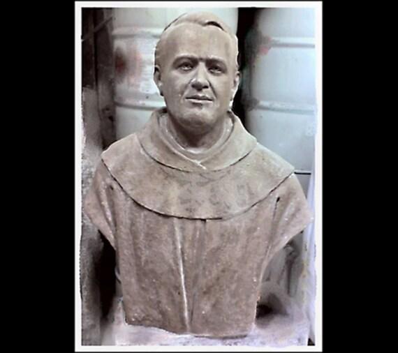 "Pope Saint Pius X 37"" Fiberglass Catholic Christian Religious Statue"