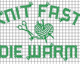 Yarn knitting vinyl Etsy