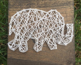 Made to Order: Elephant String Art