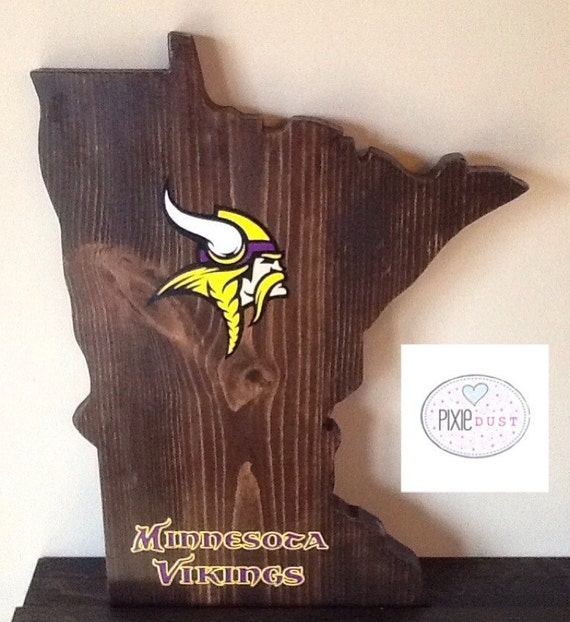 Wall Decor Out Of Wood : Minnesota wood cut out wall by pixiedustlouisville
