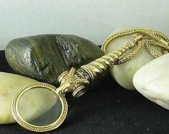Ram's Head Magnifier - Elizabethan Renaissance Antiquities - Victorian