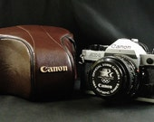 Vintage CANON AE-1 Program, Canon 50mm, f/1.8 Lens, 35mm SLR Film Camera, 1984 Summer Olympic Edition, Nice!!