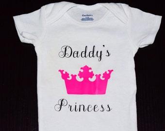 Daddy's Little Princess Onesie