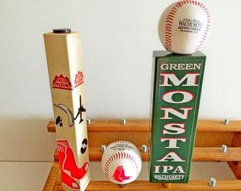 Fenway Park Green Monster Boston Red Sox Tap Handles-Wachusett Monsta- Baseball Beer Tap Handle-Red Hook Tap Handle Red Sox Gift
